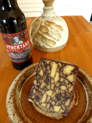 at least the oatmeal stout and porter cheese needed no refrigeration!