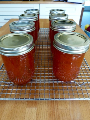 plum jam ready for lables