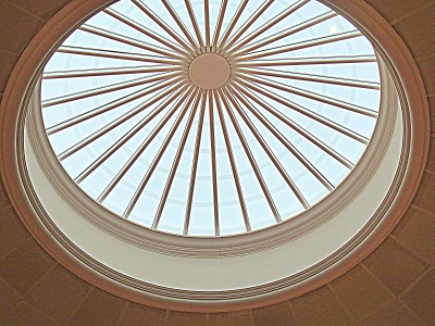 The oculus is the Dome Room's crown.