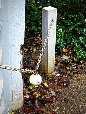 the real ball and chain ~ simple yet oh so functional