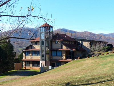 The Nancy Penn Center at The Monroe Institute's permanent facility in the Blue Ridge Mountains