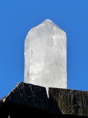 a rooftop crystal