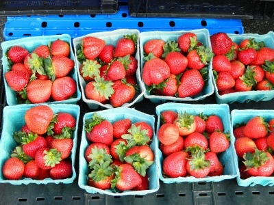 nothing says spring more than strawberries...are they coated with fungicide?