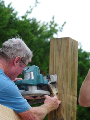 precise, critical cuts made by Jimmy, Kevin's dad.