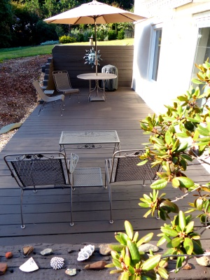 long view of restored patio space ~ I should use is more often...