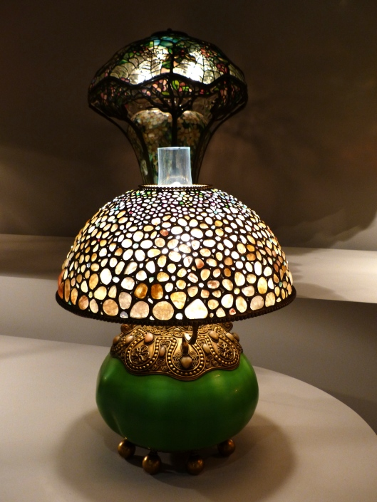 Tiffany lamps by the dozen...the real deal!