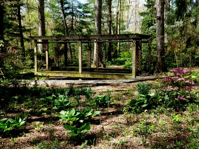 a hidden gem that will house delicate specimen plants during the warm summer months
