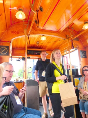 the historic Little Rock trolley ride was fun for all