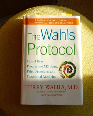 this is the source of my inspiration regarding smoothies and food in general. Dr. Wahl explains health and nutrition like no other publication. (I receive no compensation for the mention of this book.)