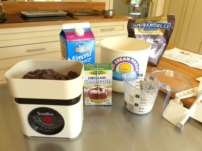 just a few quality ingredients and an Ice cream maker are all you need for this silky chocolate gelato