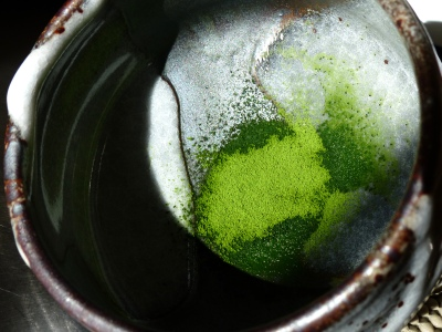 matcha is the perfect beverage for morning strolls